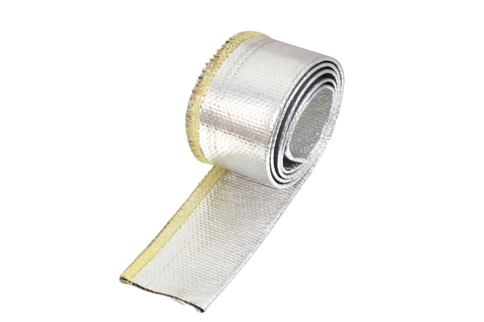 Osłona Termiczna przewodów aluminiowa 20mm 100cm - GRUBYGARAGE - Sklep Tuningowy